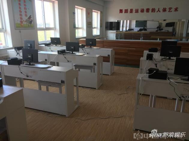 郎朗捐赠的钢琴教室
